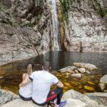 Rabo de Cavalo: Seguimos pela nova trilha até a cachoeira, em Conceição do Mato Dentro